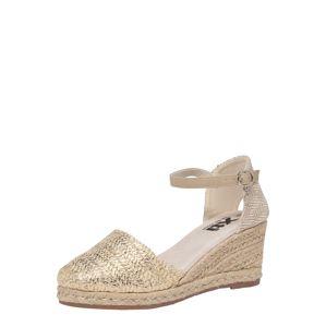 Xti Páskové sandály  zlatá