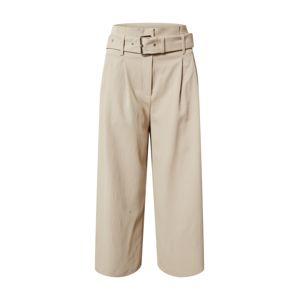 MICHAEL Michael Kors Kalhoty se sklady v pase  béžová