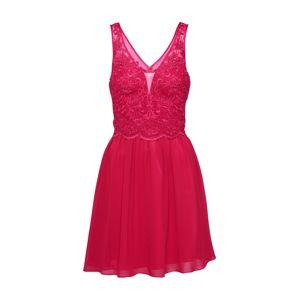 Laona Koktejlové šaty  červená třešeň / pink