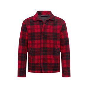 PEAK PERFORMANCE Košile  červená / černá