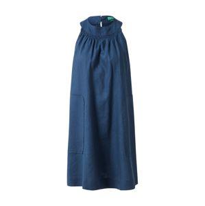 UNITED COLORS OF BENETTON Letní šaty  modrá