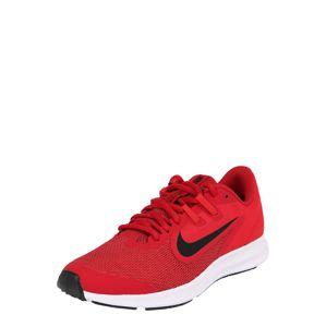 NIKE Sportovní boty 'Downshifter 9'  červená / černá