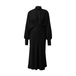 PAUL & JOE Košilové šaty  černá