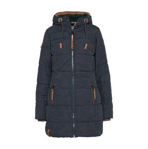 naketano Zimní kabát 'Pfläumchen II'  tmavě modrá