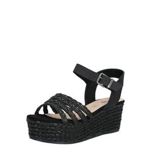 MTNG Páskové sandály 'NEW SOCOTRA'  černá
