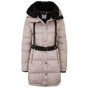 RINO & PELLE Zimní kabát 'ADDISON'  světle hnědá