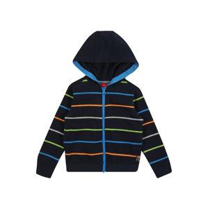 s.Oliver Junior Mikina  šedá / tmavě modrá / modrá / oranžová / zelená