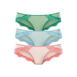 BUFFALO Kalhotky  světlemodrá / smaragdová / pastelově růžová