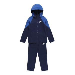 Nike Sportswear Joggingová souprava  noční modrá / královská modrá / bílá
