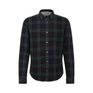NOWADAYS Košile  tmavě modrá / zelená