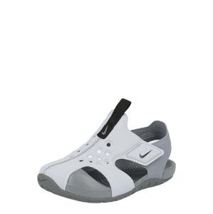 Nike Sportswear Otevřená obuv 'Sunray Protect 2'  světle šedá / tmavě šedá