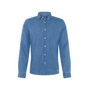 NOWADAYS Společenská košile  modrá džínovina