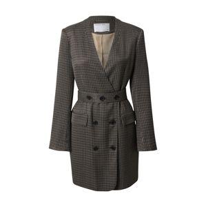 Designers Remix Šaty  šedá / černá / béžová