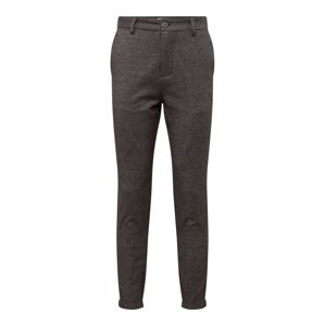 SELECTED HOMME Chino kalhoty 'SLHSPECIAL-ALEX MIX ZIP PANTS W EX'  šedá