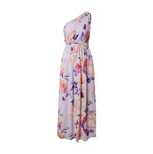 Chi Chi London Společenské šaty 'Emika'  fialová / mix barev