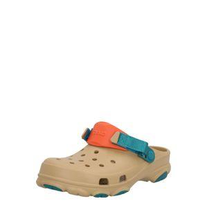 Crocs Pantofle 'Classic All Terrain'  světle hnědá / oranžová / tyrkysová
