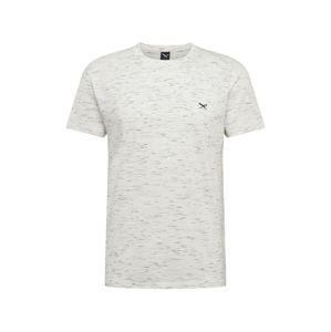 Iriedaily Tričko  bílý melír