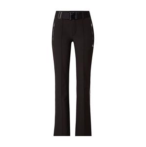 LUHTA Outdoorové kalhoty 'Haapala'  černá / bílá / červená