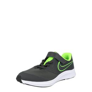 NIKE Sportovní boty 'Star Runner 2'  svítivě zelená / antracitová