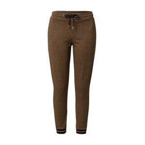 Rich & Royal Kalhoty  hnědá / zlatá / černá