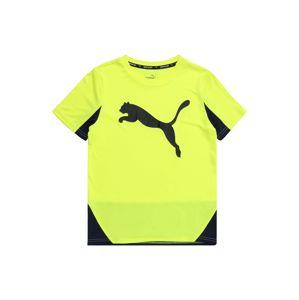 PUMA Tričko  žlutá