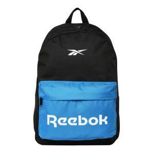 REEBOK Sportovní batoh  modrá / černá