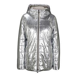 heine Zimní bunda  stříbrná