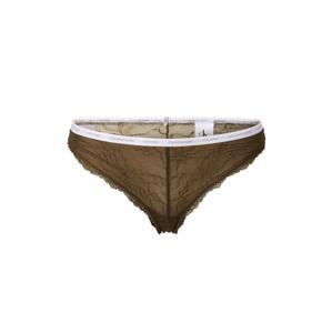 Calvin Klein Underwear Kalhotky 'BRAZILIAN'  khaki