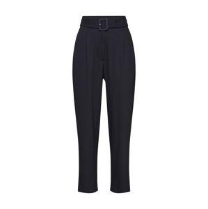 JUST FEMALE Kalhoty se sklady v pase 'Ingrid'  černá