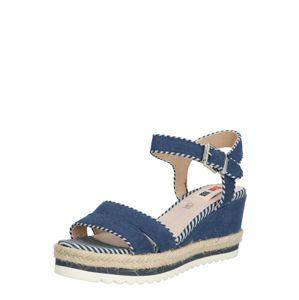 MTNG Páskové sandály 'EDEN'  písková / tmavě modrá