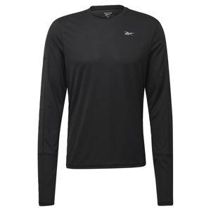 REEBOK Funkční tričko 'Running Essentials'  černá