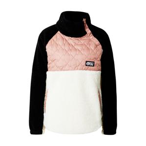 Picture Organic Clothing Sportovní mikina 'Face'  pink / bílá / černá