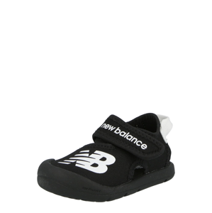 new balance Sandály  černá / bílá