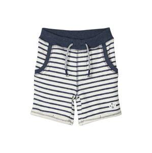 NAME IT Kalhoty  bílá / námořnická modř