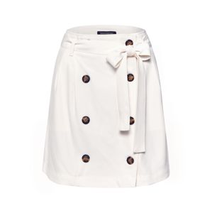 Banana Republic Sukně 'PAPER BAG WAIST TRENCH SKIRT'  bílá