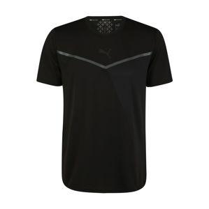 PUMA Funkční tričko 'Train Thermo R+ BND'  černá / šedá