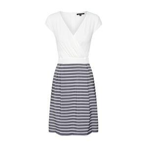 MORE & MORE Šaty  tmavě šedá / bílá
