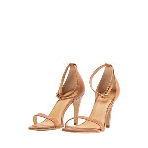 DreiMaster Klassik Páskové sandály  hnědá