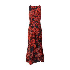 AX Paris Šaty  červená / černá