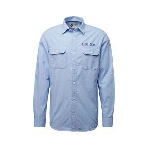 JACK & JONES Košile  marine modrá / kouřově modrá