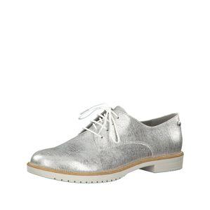 TAMARIS Šněrovací boty  stříbrná