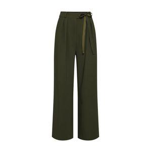 Samsoe Samsoe Kalhoty se sklady v pase 'Magritt 10456'  khaki