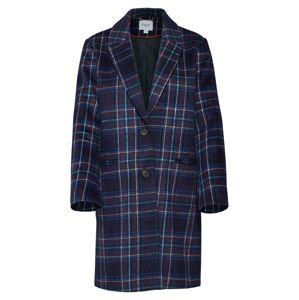 SAINT TROPEZ Přechodný kabát 'WOVEN COAT'  světlemodrá / tmavě modrá