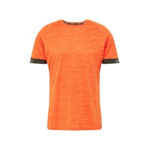 Rukka Funkční tričko 'MELLI'  oranžově červená / černá