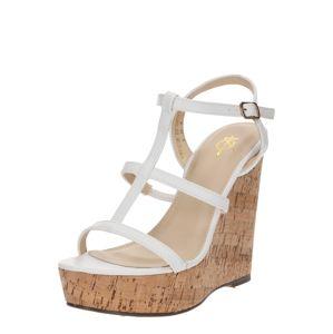 4th & Reckless Páskové sandály  bílá