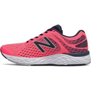 new balance Běžecká obuv  pink / černá / lososová / světle šedá