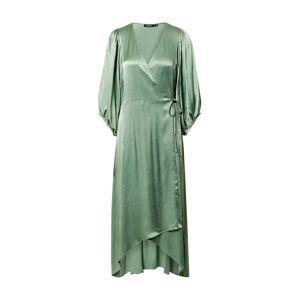 SOAKED IN LUXURY Koktejlové šaty 'Nanuli'  zelená