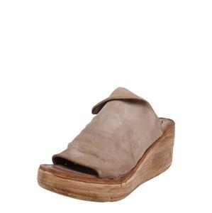 A.S.98 Pantofle 'NOA'  světle hnědá