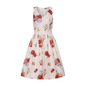 Chi Chi London Koktejlové šaty  růžová / červená