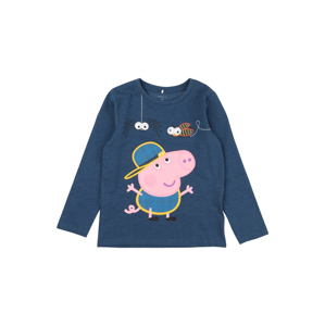 NAME IT Tričko 'PEPPA PIG'  noční modrá / pink / žlutá